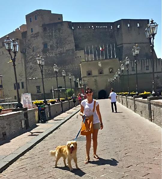 Turista a Napoli